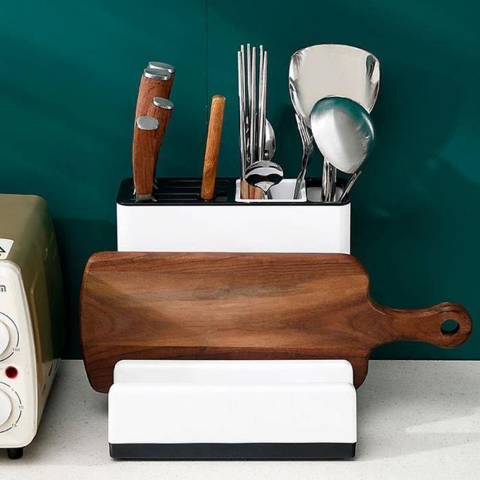 Planche à couteaux planche à découper étagère-support de rangement pour ustensiles de cuisine