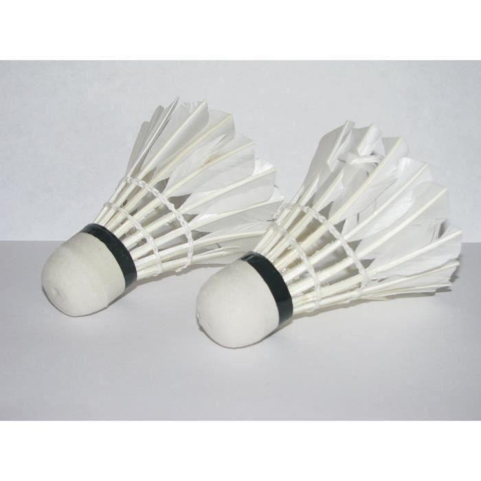 2 x Volant de badminton LED Lumiere bleue Pour la nuit QUIKF4550