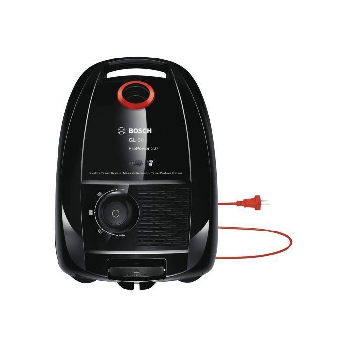 Bosch GL-30 ProPower 2.0 BGL3POWER Aspirateur traineau sac noir