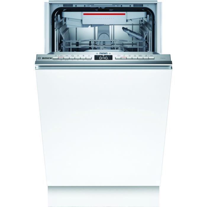bosch - lave-vaisselle 45cm 10c 46db a+ tout intégrable - spv4xmx28e