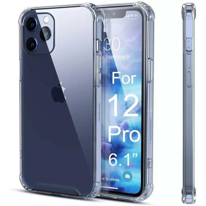 Coque + Verre Trempé Pour iPhone 12/12 Pro/ Protection vitre