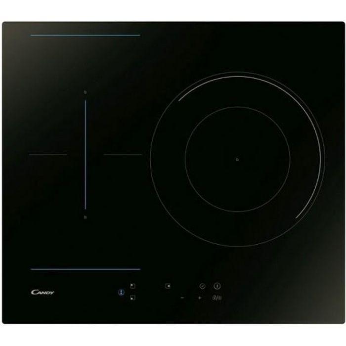 Plaque à Induction Candy CTP634B3 60 cm (3 Zones de cuisson)
