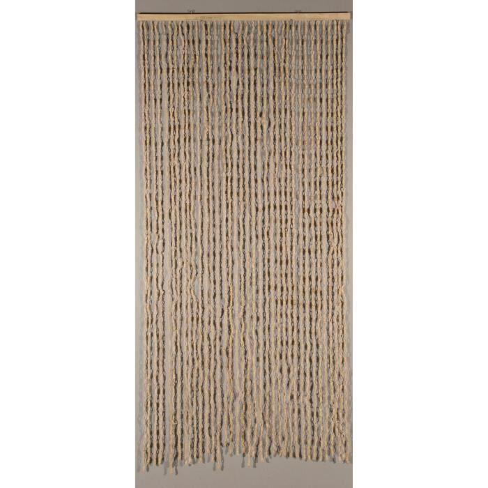 Rideau de porte Maïs Nuage blanc