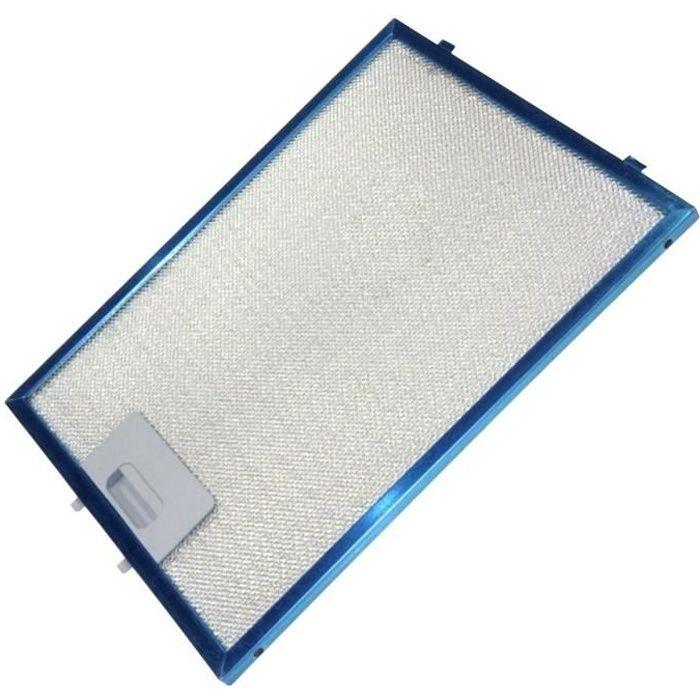 Filtre métal anti graisse (à l'unité) - Hotte - DE DIETRICH, SAUTER (8346)