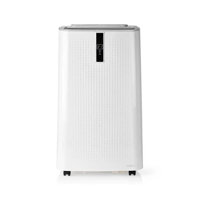 Nedis Système de Climatisation Mobile 12 000 BTU Classe Énergétique A Télécommande Fonction Minuteri