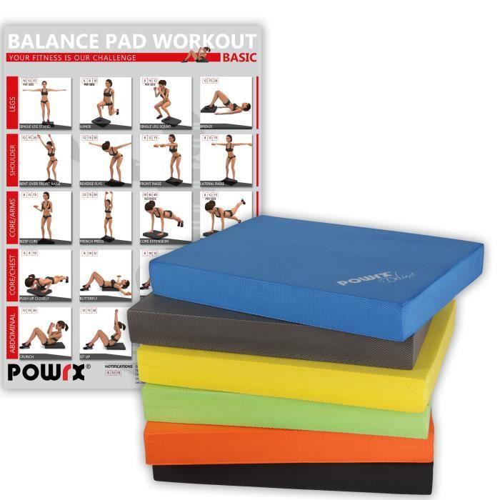 Balance pad -tapis d´entrainement Jaune