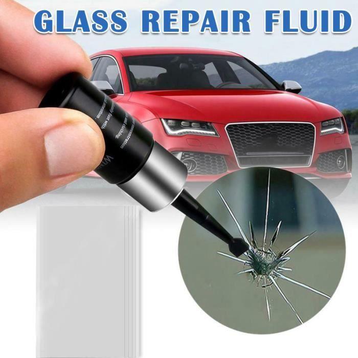 Réparation de vitre de pare-brise de voiture Kit de résine Outil de réparation de fenêtre de véhicule automatique Réparation