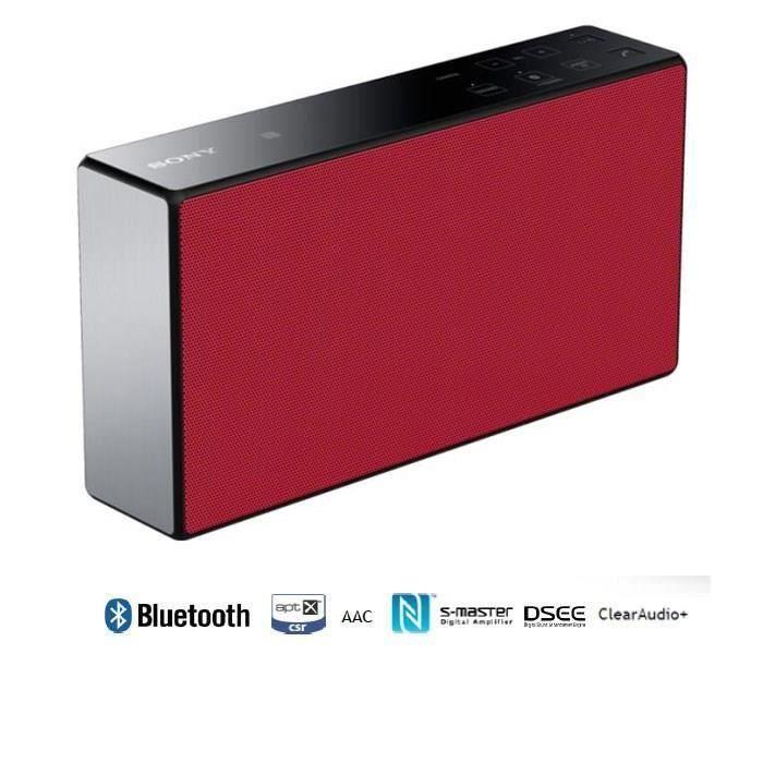 SONY SRS-X5 rouge Enceinte bluetooth portable - aptX NFC