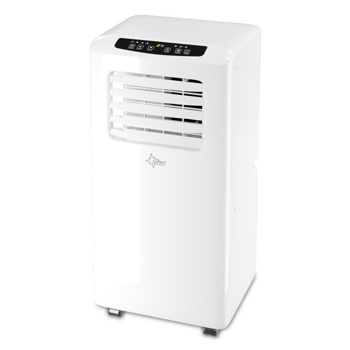 Climatiseur Mobile SUNTEC Impuls 2.0 Eco R290 - Climatiseur Portable [pour Volumes de max. 60 M³ (~25 M²), 7 000 BTU/h]