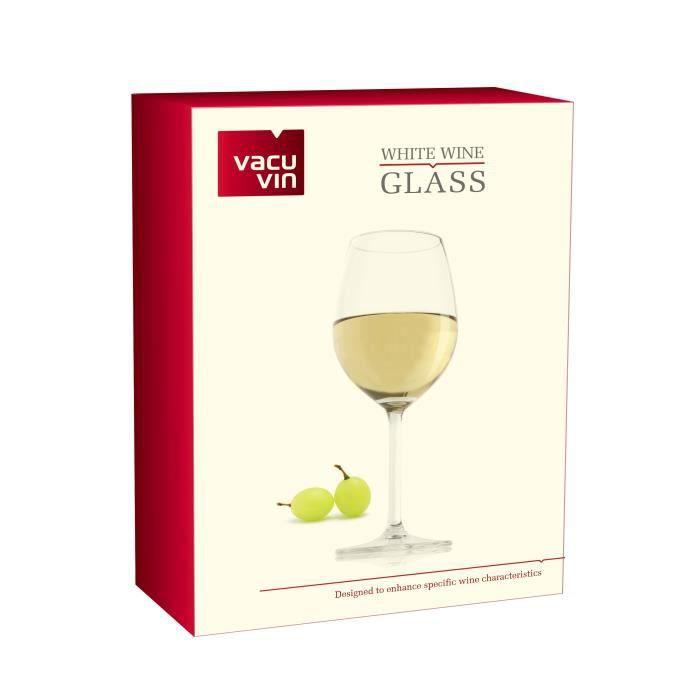 Verres à vin blanc VACU VIN