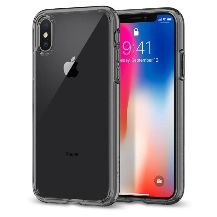 coque iphone x 10 ultra hybrid air cushion c