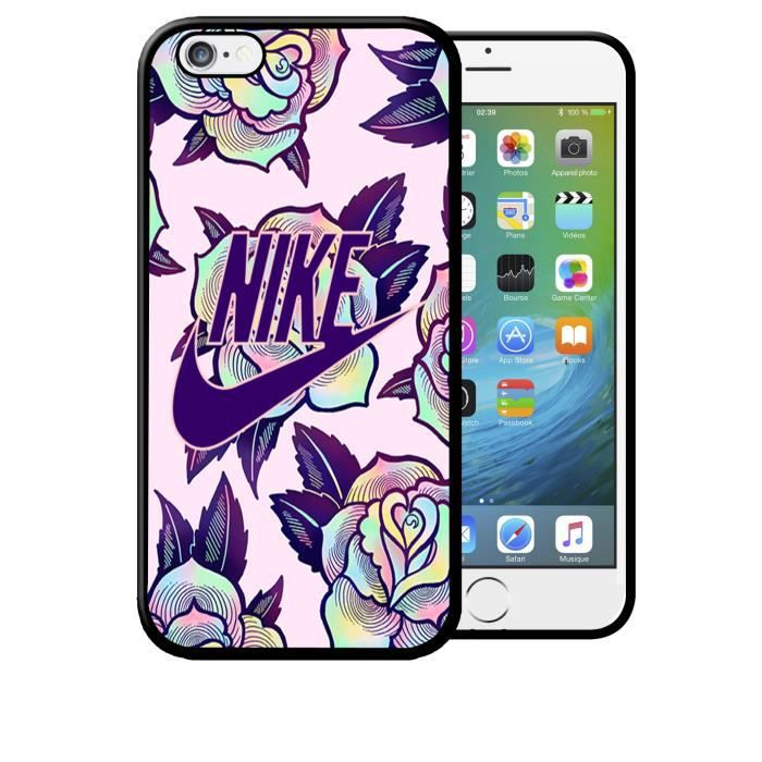coque iphone 6 6s nike liberty flowers tropical f