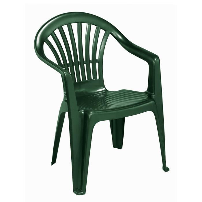 fauteuil jardin plastique vert achat vente fauteuil jardin plastique vert pas cher les. Black Bedroom Furniture Sets. Home Design Ideas