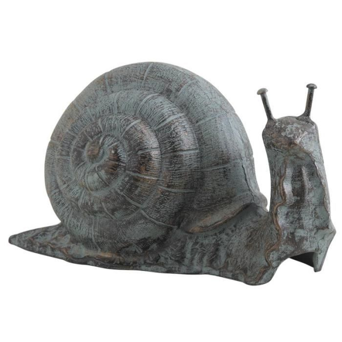 grand escargot en fonte d coration jardin achat vente