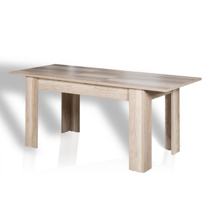 Table salle a manger avec rallonge achat vente table for Table a manger carre extensible