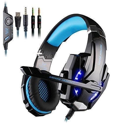 CASQUE AVEC MICROPHONE Gaming Gaming Headset Casque EVERY G9000 micro casque