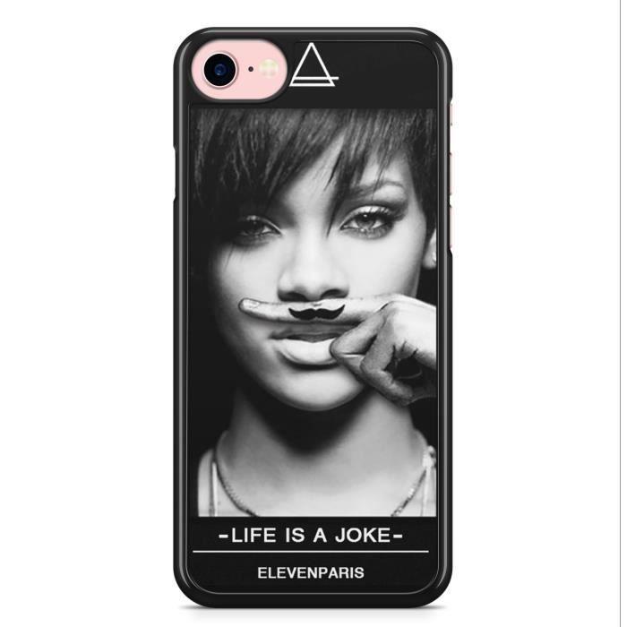 Coque iPhone 7 et iPhone 8 Rihanna Eleven Paris Mo