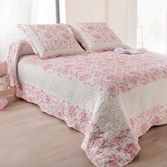 boutis rose achat vente boutis rose pas cher cdiscount. Black Bedroom Furniture Sets. Home Design Ideas