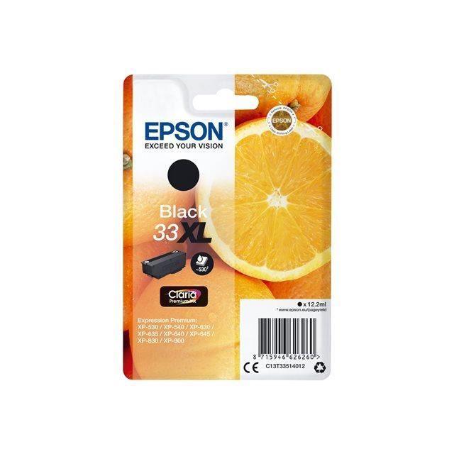 CARTOUCHE IMPRIMANTE EPSON Cartouche T3351 - Oranges - Noir XL