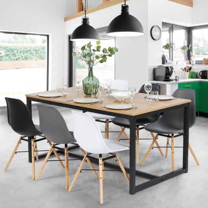Table A Manger Detroit Design Industriel 150 Cm Achat Vente