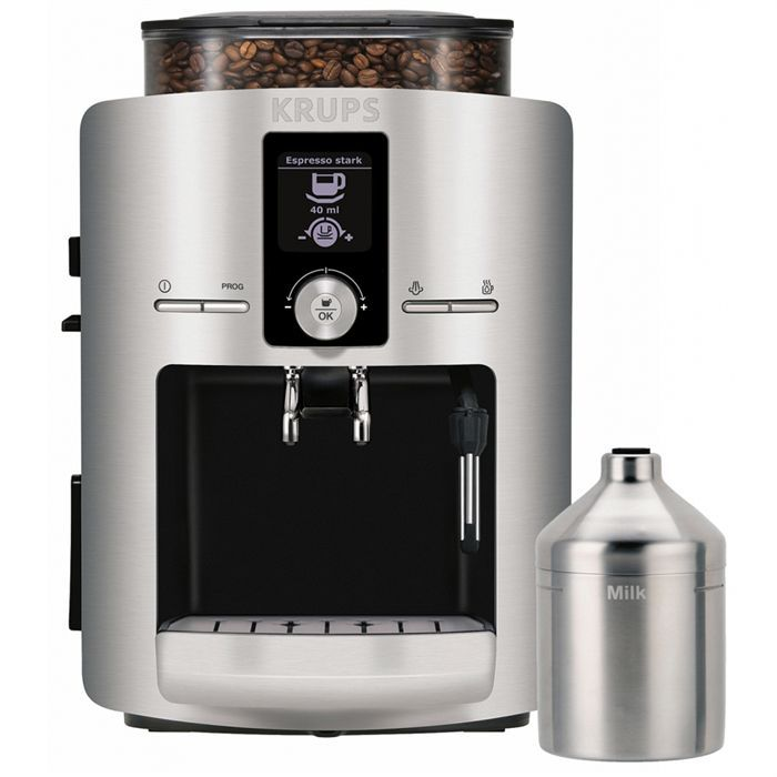Krups ea8260 yy8107 achat vente machine expresso cdiscount - Machine a cafe grain krups ...