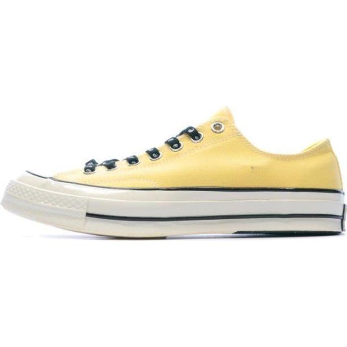 chaussures converse jaune