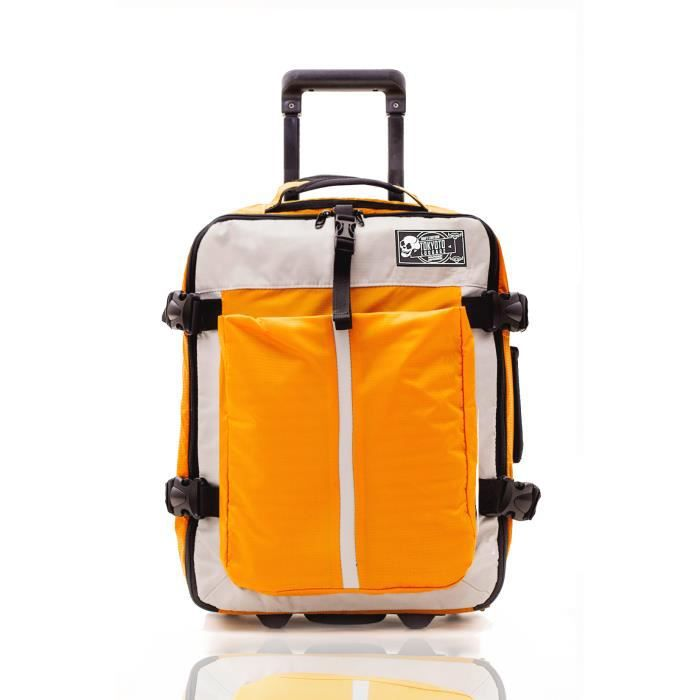 tokyoto valise cabine bagage trolley easyjet ryanair low cost tsa voyage tissu soft jaune. Black Bedroom Furniture Sets. Home Design Ideas