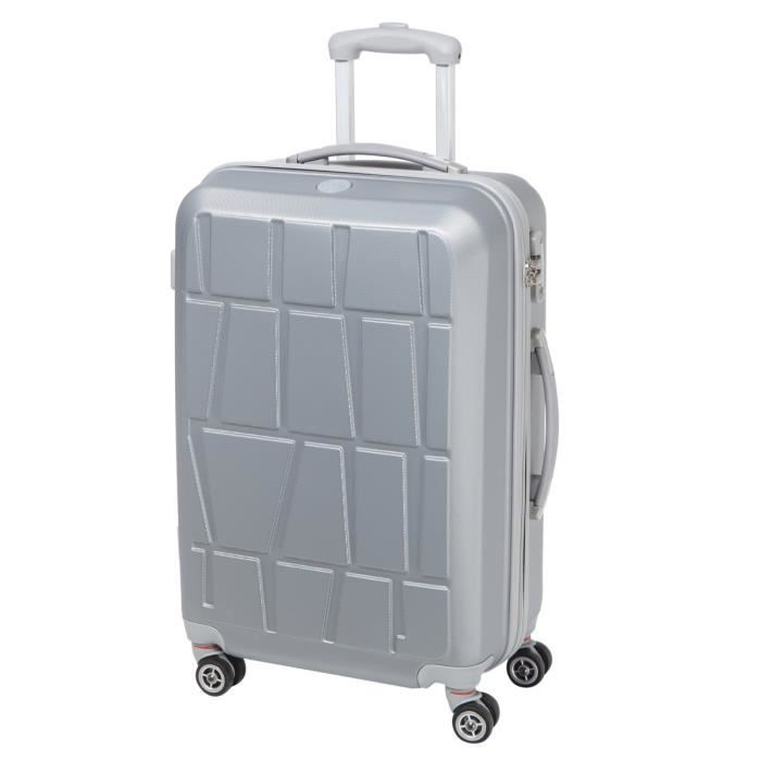 VALISE - BAGAGE CITY BAG Valise trolley double 4 roues 60 cm