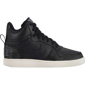 BASKET NIKE Baskets Court Borough Mid - Femme - Noir