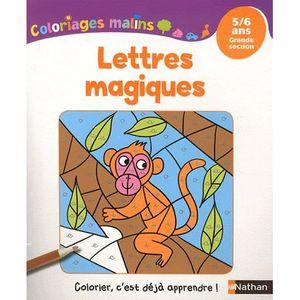 LIVRE JEUX ACTIVITÉS Lettres magiques
