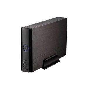 BOITIER POUR COMPOSANT Boîtier externe 3.5 IDE / SATA III USB 2.0 Noir -