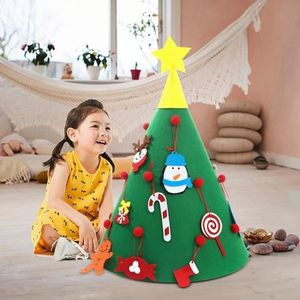 Guirlandes Sapin de Noël Festif étoile verte Lunettes Fête Robe Fantaisie Cadeau Drôle