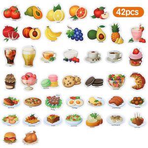 AIMANT Baobë 42 Pièce Aimant Frigo Enfant Légumes Fruits
