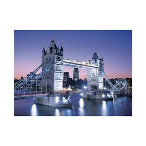 PUZZLE Puzzle Adulte Tower Bridge De Nuit - Collection Pa