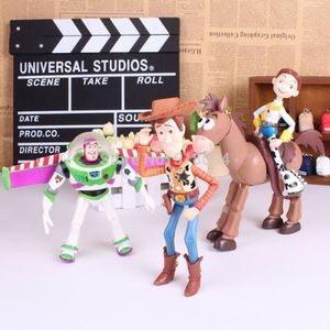FIGURINE - PERSONNAGE Lot de 4 Figurines Toy Story 3 Buzz Lightyear Wood