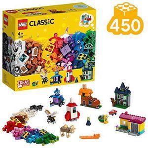 ASSEMBLAGE CONSTRUCTION LEGO®-Classic Les fenêtres créatives Jeu Créatif a