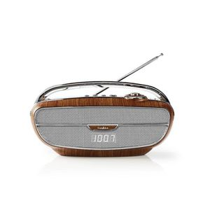 ENCEINTE NOMADE NEDIS  Poste  Radio  FM  Portable  |  60  W  | Blu