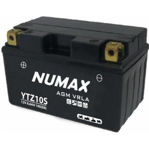 BATTERIE VÉHICULE Batterie moto Numax Premium AGM YTZ10S 12V 8.6Ah 1