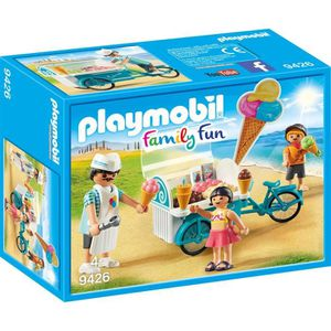 UNIVERS MINIATURE PLAYMOBIL 9426 - Family Fun - Marchand de glaces e