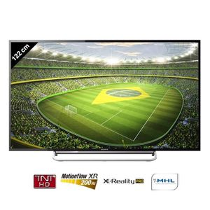 sony bravia tv connect 122 cm achat vente t l viseur led tvled 122cm kdl48w605 moins cher. Black Bedroom Furniture Sets. Home Design Ideas