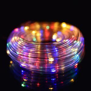 GUIRLANDE D'EXTÉRIEUR TEMPSA 14m Etanche 120 LED Chaîne de Lumières + Té