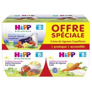 PLATS CUISINÉS HIPP BIOLOGIQUE Traditions gourmandes 2xCrème de l