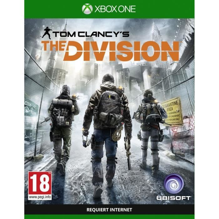 the division jeu xbox one avis test cdiscount. Black Bedroom Furniture Sets. Home Design Ideas