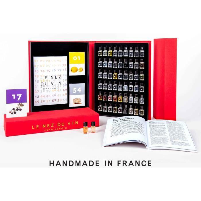 Le Nez du Vin coffret 54 arômes collection complète