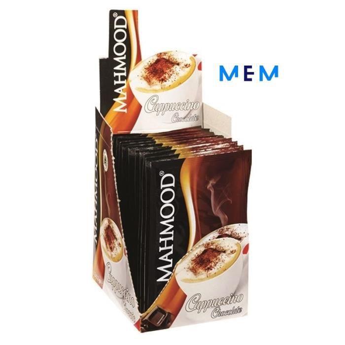 Pack boisson instantanée pour -CAPPUCCINO Chocolat- x 12 sachets