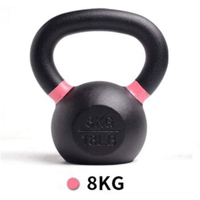 YLJYJ Fitness en Fonte Kettlebell, Kettlebell pour la Musculation Poids Kettle-Bell Ménage Deep Squat Arm Muscles Training Tool 68
