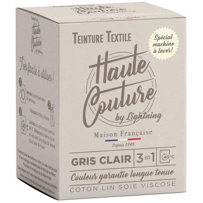 Teinture textile haute couture gris clair 350g