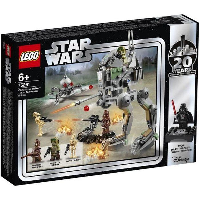 LEGO Star Wars™ 75261 - Clone Scout Walker™ – Édition 20ème anniversaire - Jeu de Construction