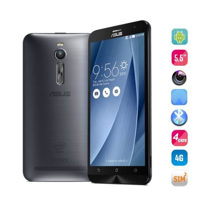 asus zenphone 2 5 5 4gb 32gb intel z3560 quad core up to 2 3ghz 64bit achat smartphone pas. Black Bedroom Furniture Sets. Home Design Ideas