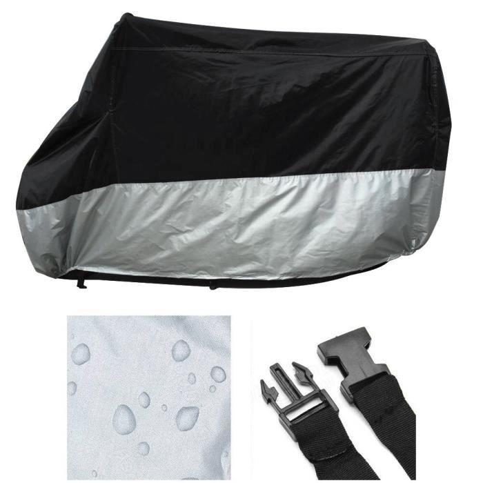 Respirant Moto Scooter Housse Bâche de garage pliable protection